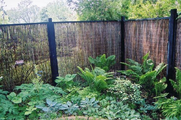 Landscaping Ideas To Hide Ugly Fence : Landscape design toronto perennial gardens traditional