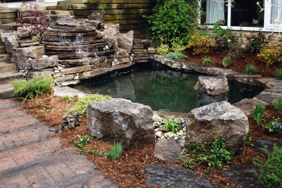 Ray Johannes Landscape Design, Toronto - Ponds & Fountains contemporary-landscape