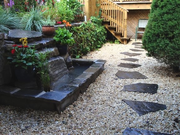 Ray johannes landscape design toronto ponds fountains for Garden design ideas toronto