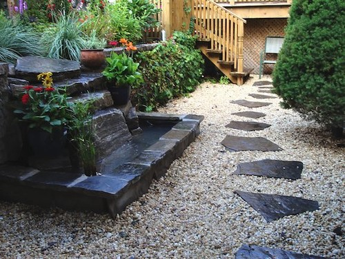 Ray Johannes Landscape Design, Toronto - Ponds & Fountains contemporary landscape