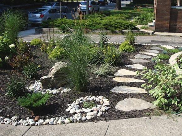 ray johannes landscape design toronto stone pathways