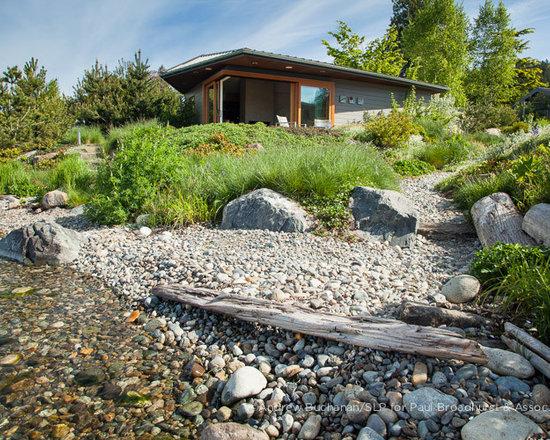Large Beach Grass Landscape Design Ideas Pictures