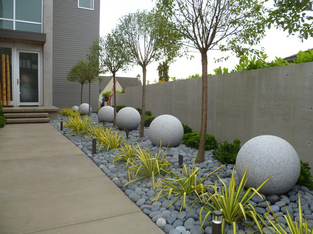 Recent Projects Contemporary Residential Design Contemporain Jardin Seattle Par Folia