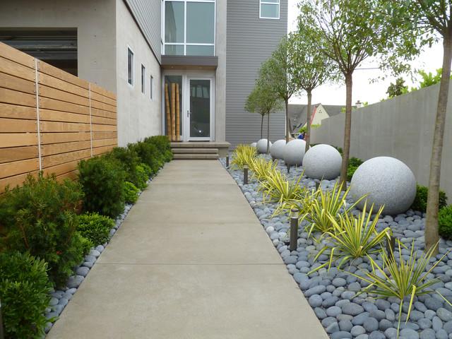Contemporary formal garden ogród nowoczesny geometryczny