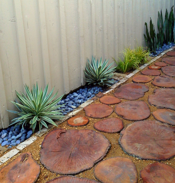 Recycled Tree Stump Pavers Quot Wood Pavers Quot Modern