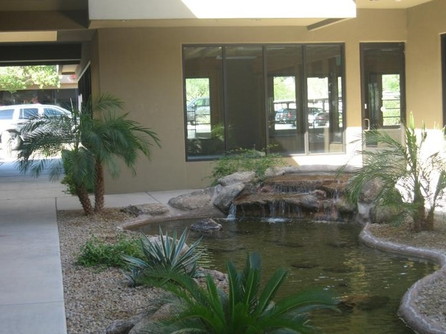 Red Rocks Commercial Water Feature tropical-landscape