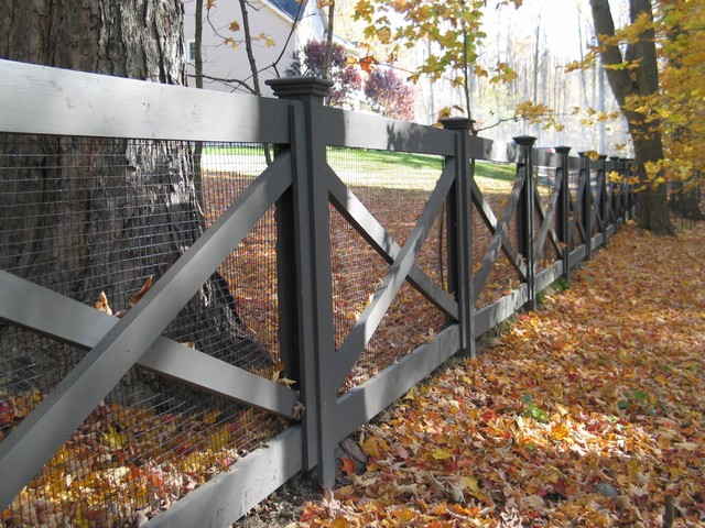 Redding Picket Fence Stonewall And Cross Buck Rail Fence