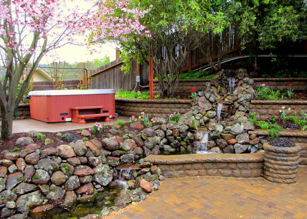 Redwood City Hardscape Project - Landscape - San Francisco ...
