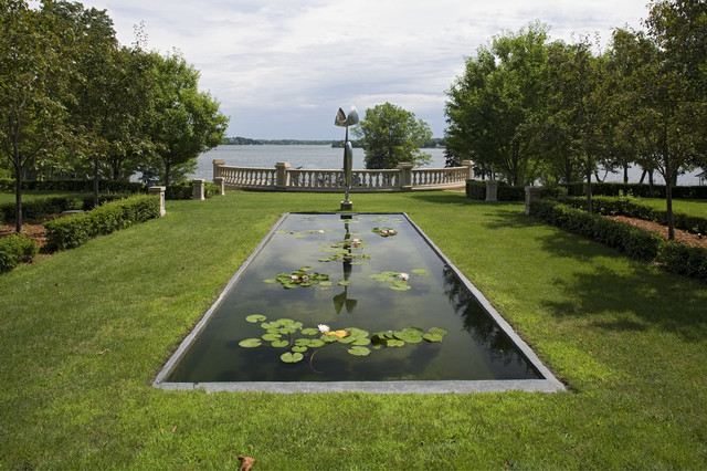 Backyard patio ideas - Reflecting Pool Traditional Landscape Minneapolis By John