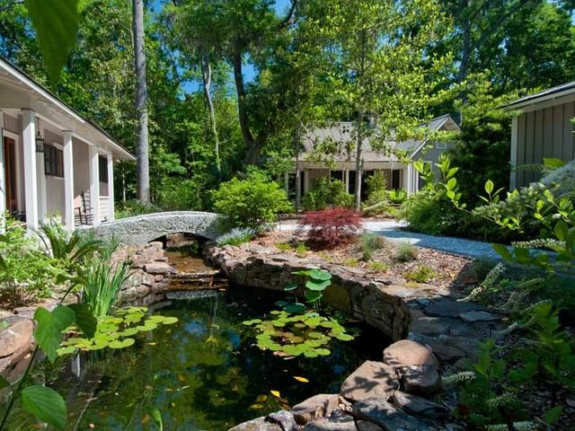 Reid Residence, Spring Island traditional-landscape