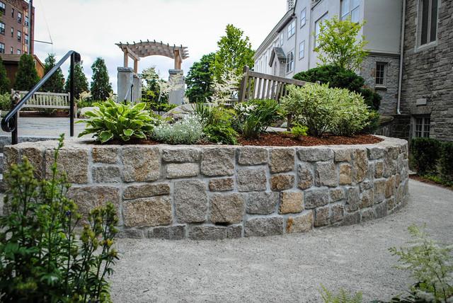 Reno garden winchester ma contemporary landscape for Landscaping rock reno nv