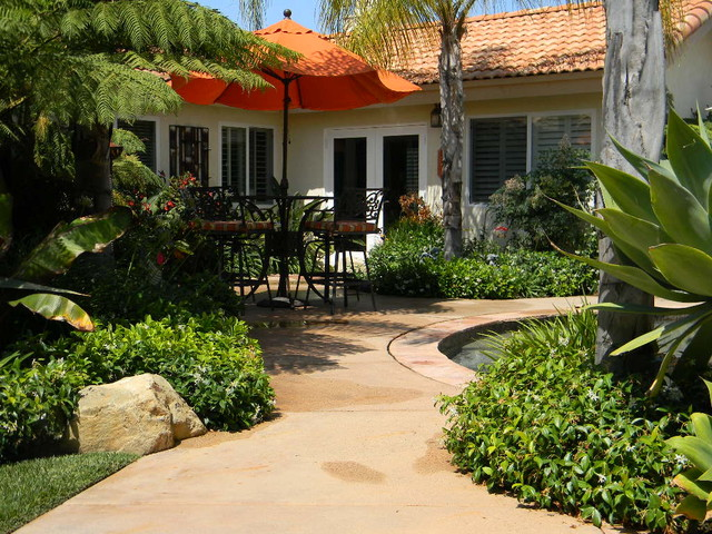 Residence 3 - Tropical - Landscape - San Diego - By Smart Water Landscape Concepts
