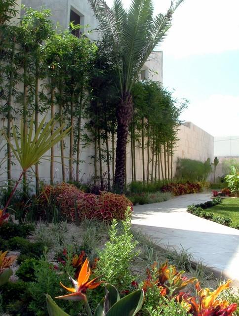 Residences tropical landscape mexico city by - Paisajismo urbano ...
