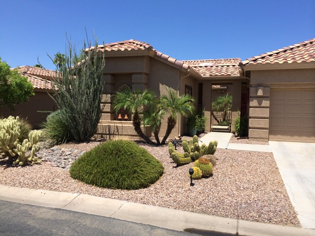 Residential 10 - Traditional - Landscape - Phoenix - By Coleman Design Group Landscape ...