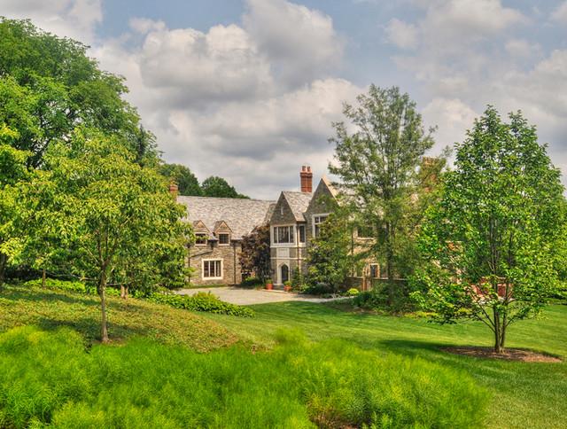 Residential garden design traditional landscape for Van dyke landscape architects