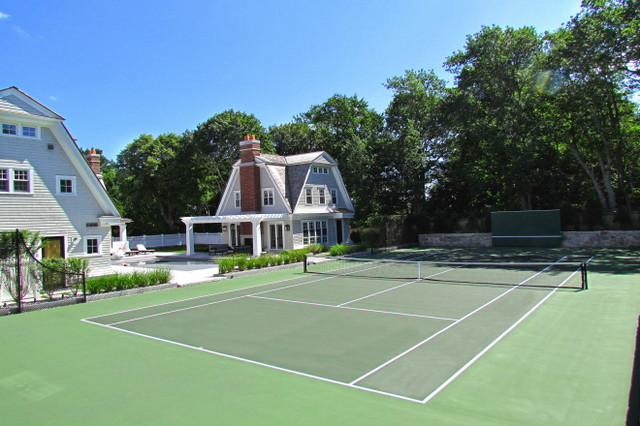 Residential Hard Court Construction Traditional