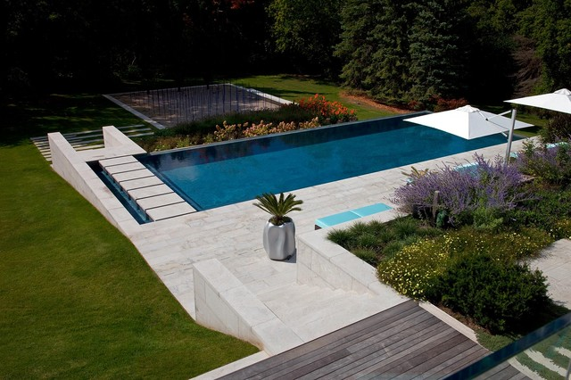 Residential home contemporary landscape toronto by for Residential swimming pool designs