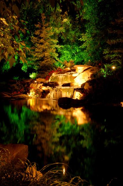 Residential landscape lighting landscape salt lake for Residential outdoor lighting