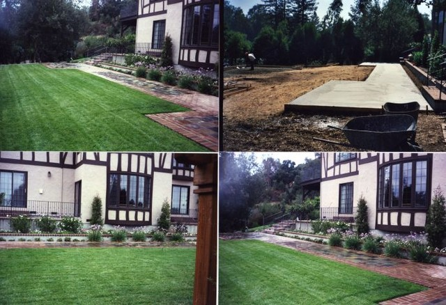 Residential Parkway Landscaping Ideas : Residential landscape saratoga