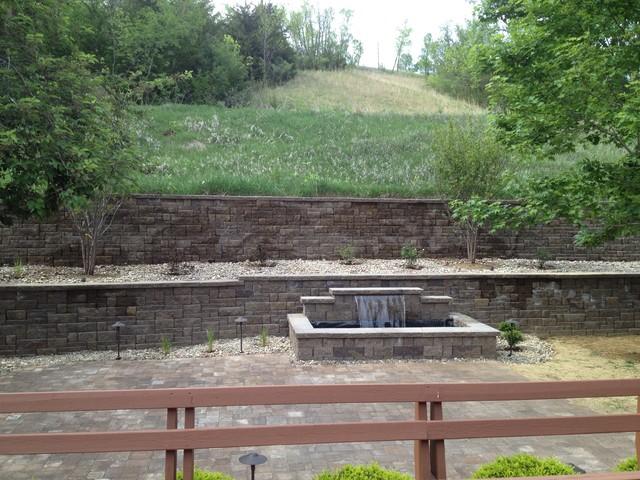 Retaining Walls traditional-landscape