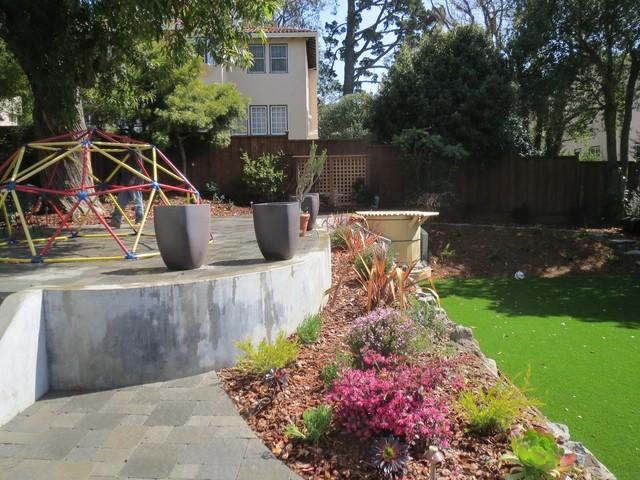 Retaining Walls in San Francisco contemporary-landscape