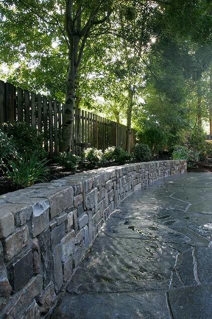 Retaining Walls Montana Ledge Stone Iron Mountain Slate