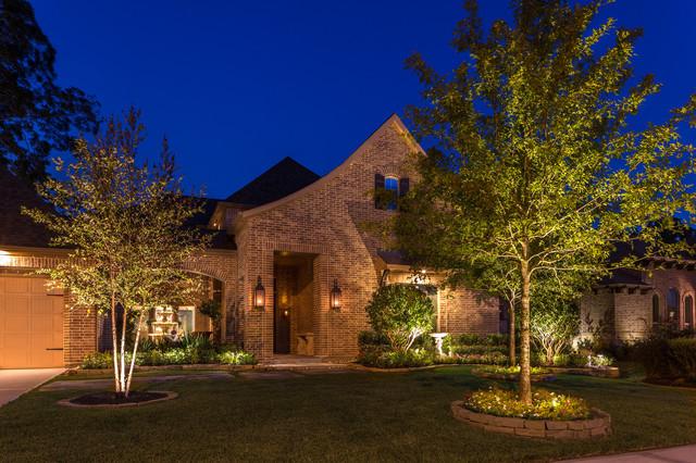 Richmond, TX - Contemporary - Landscape - houston - by Light It Right