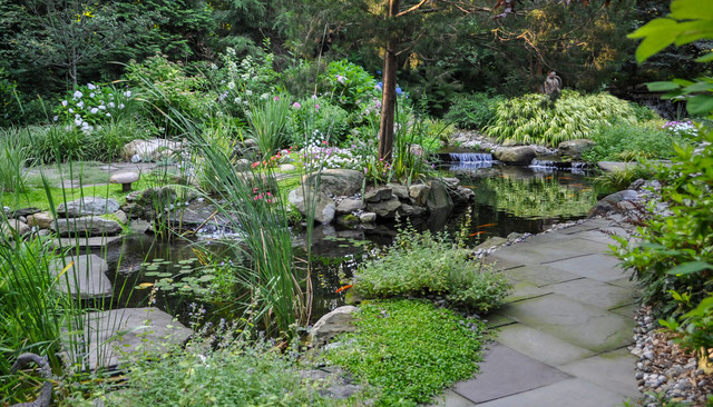 Ringwood Water Gardens - Rustic - Landscape - New York - by CLC Landscape Design