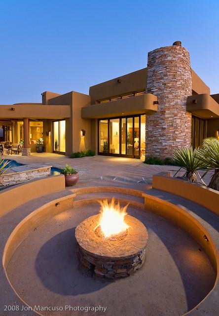 Ritz Model Homes southwestern-landscape