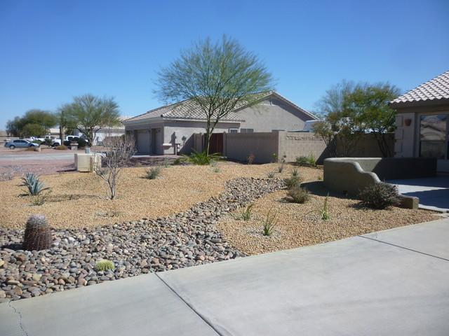 Garden Design with River Rock uamp Landscape Contemporary Garden phoenix by  MTH with Landscaping Plans from. Garden Design  Garden Design with High Desert Landscape  Inc