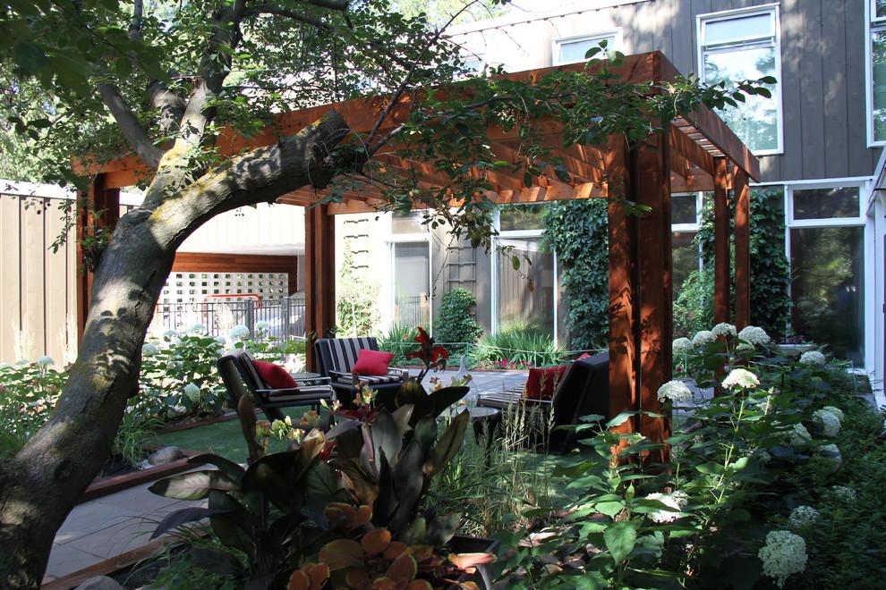 Riverside Courtyard - Traditional - Landscape - Edmonton ... on Riverside Outdoor Living id=83247