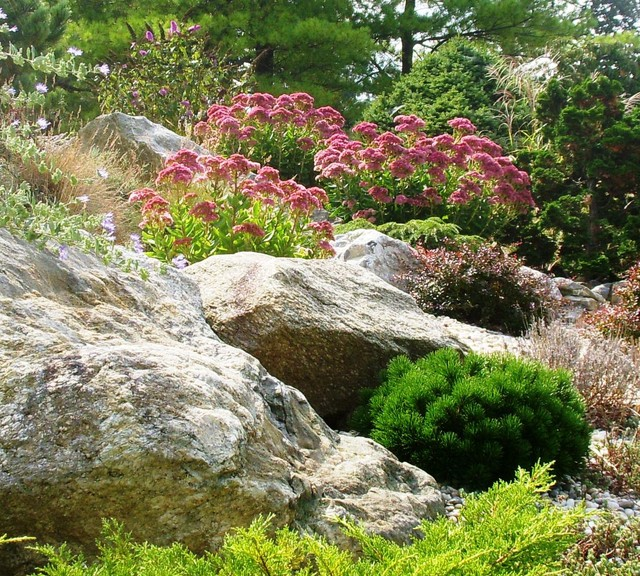 Rock garden contemporary landscape new york by for Houzz landscape architects