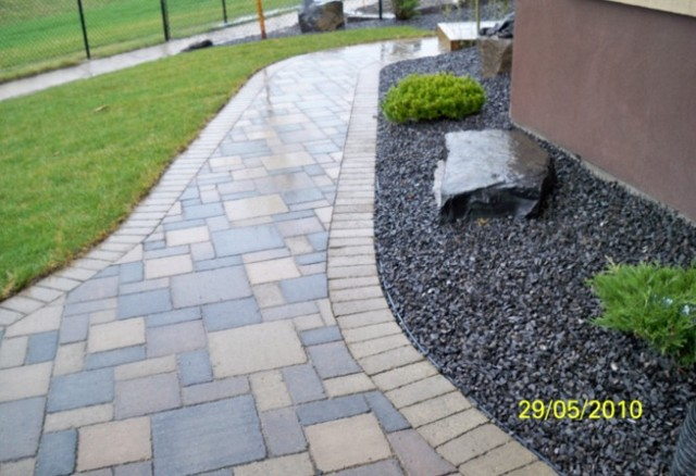 Rock lake calgary estate home landscaping for Landscaping stones