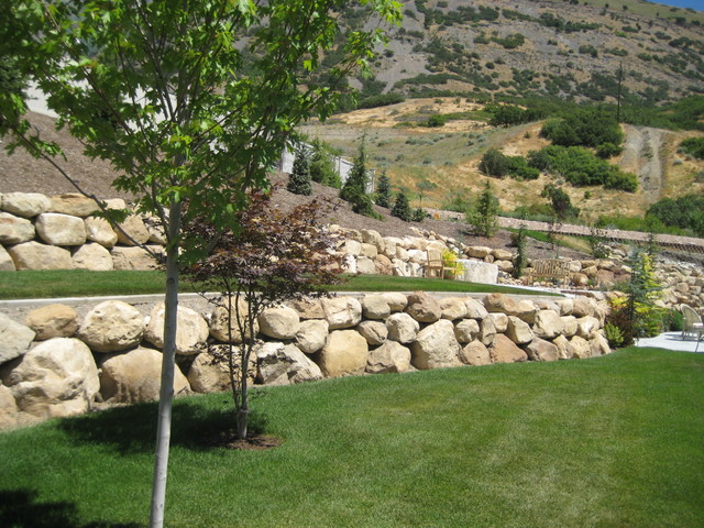 Rock walls for Rock wall garden designs