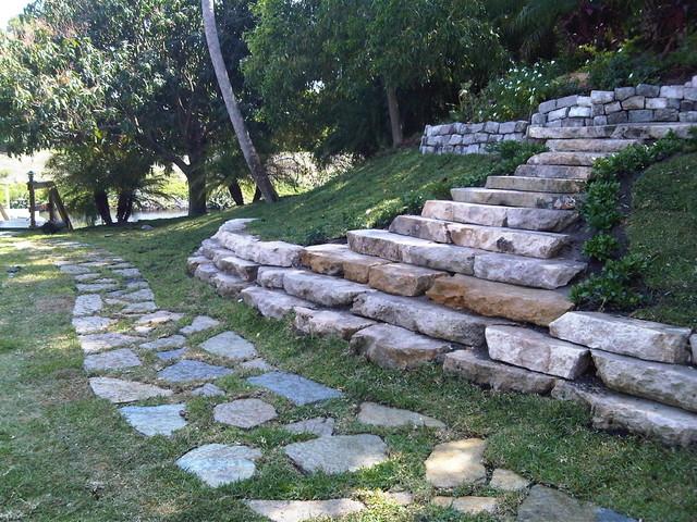Rockscape - Tropical - Landscape - miami - by Nerak C0 ... on Backyard Rockscape Ideas id=57526