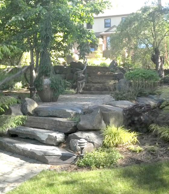 Rockwood Renovation eclectic-landscape