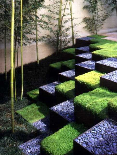 Ron herman landscape architect for Grid landscape design