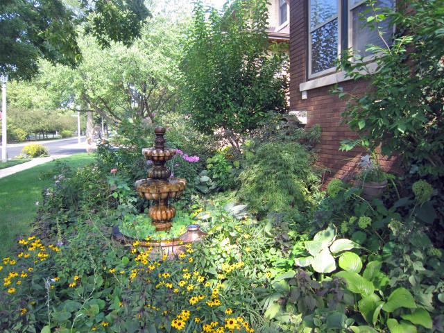 Rooftop Garden on Garage traditional-landscape