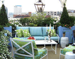Rooftop Terrace traditional-landscape