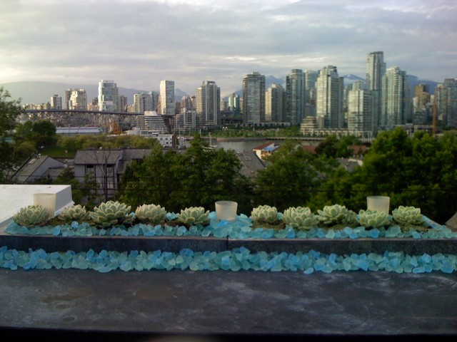 Rooftop terrace modern landscape vancouver by for Landscaping rocks vancouver