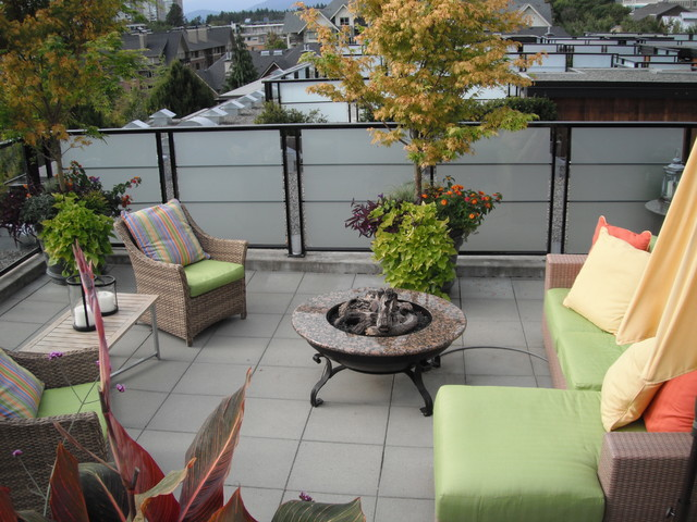 Rooftop terrace modern landscape vancouver by for Garden design vancouver