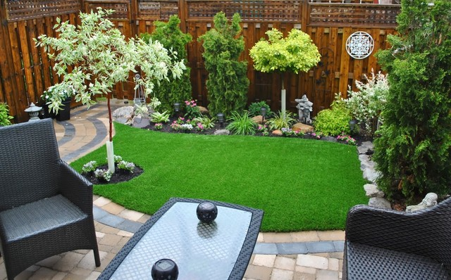 Rooftops Decks And Patios With Artificial Gr Asian