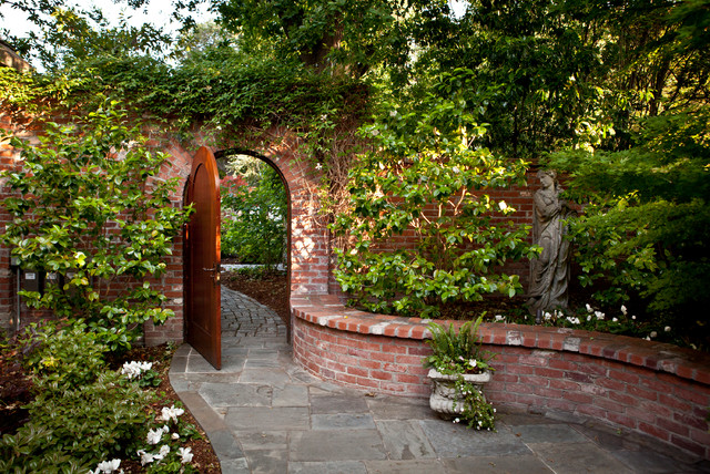 Rose Garden Traditional Landscape San Francisco By Design - Traditional garden design pictures