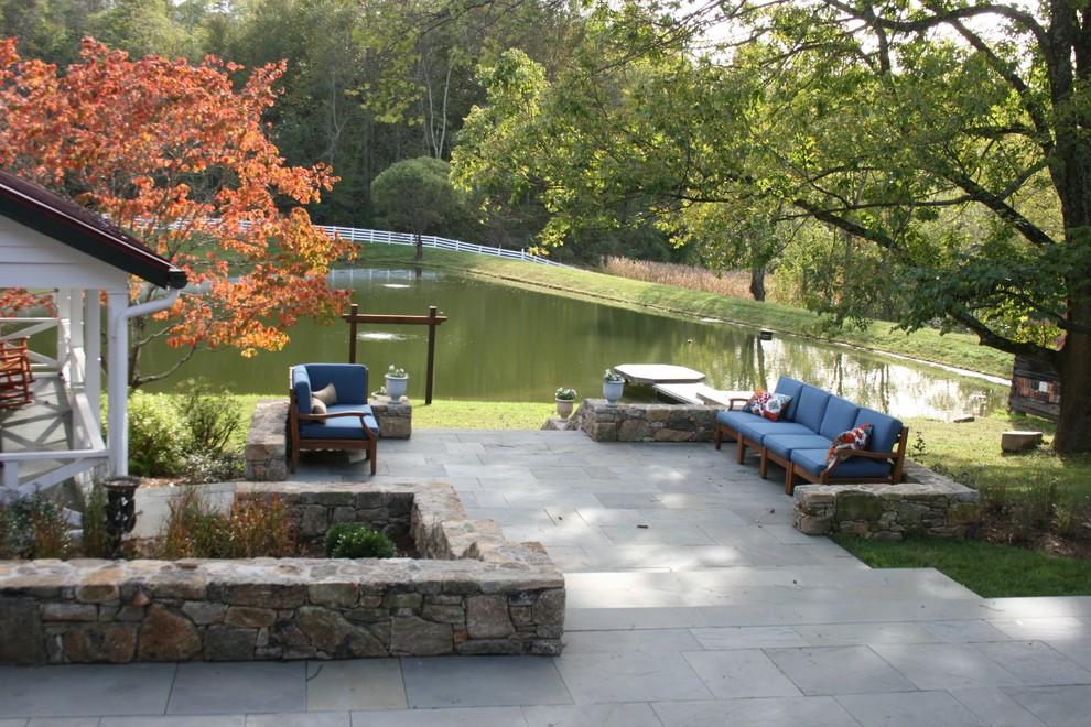 Design ideas for a farmhouse landscaping in DC Metro.