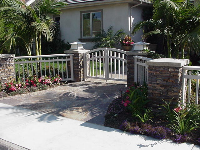 Rowe Residence, Costa Mesa CA tropical-landscape