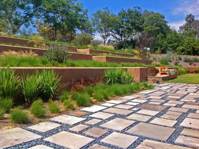 Russeth Rancho Santa Fe, CA contemporary-landscape