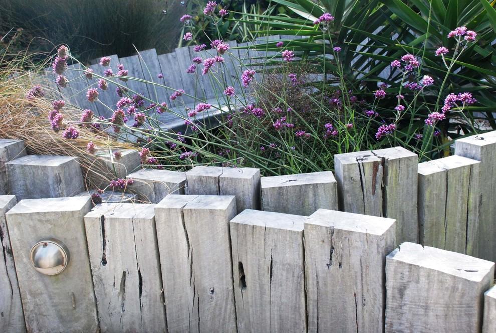 Rustic Beach Garden - Eclectic - Landscape - Wellington - by ... on soil garden, pine garden, rocks garden, roofing garden, plants garden, stone garden, compost garden,