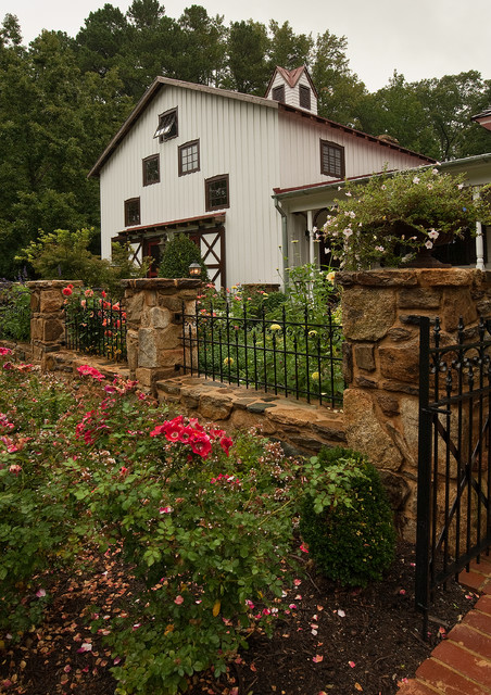 Rustic elegance durham nc traditional landscape - Using stone in rustic gardens elegance and drama ...