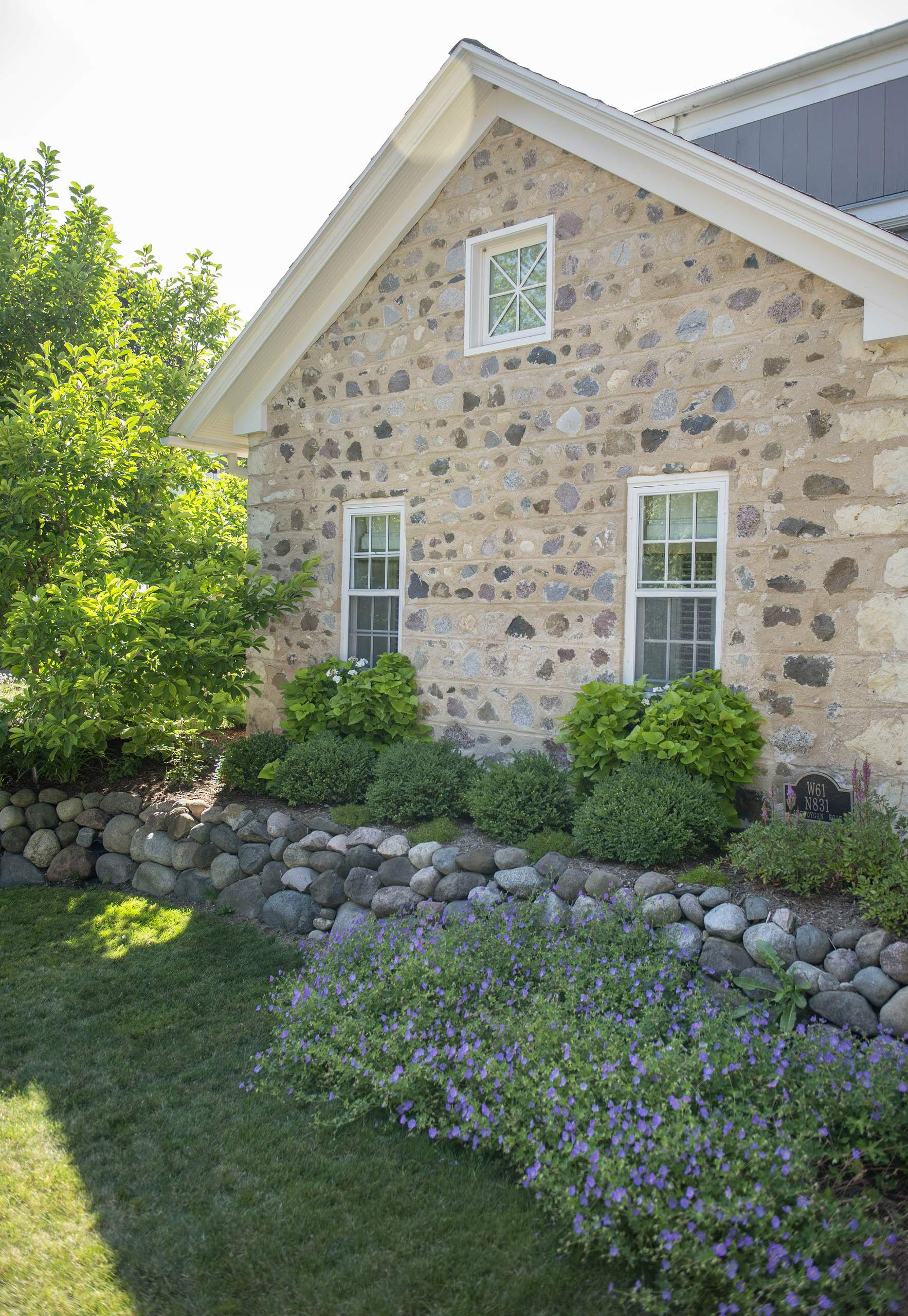 Rustic Front Landscape - Cedarburg