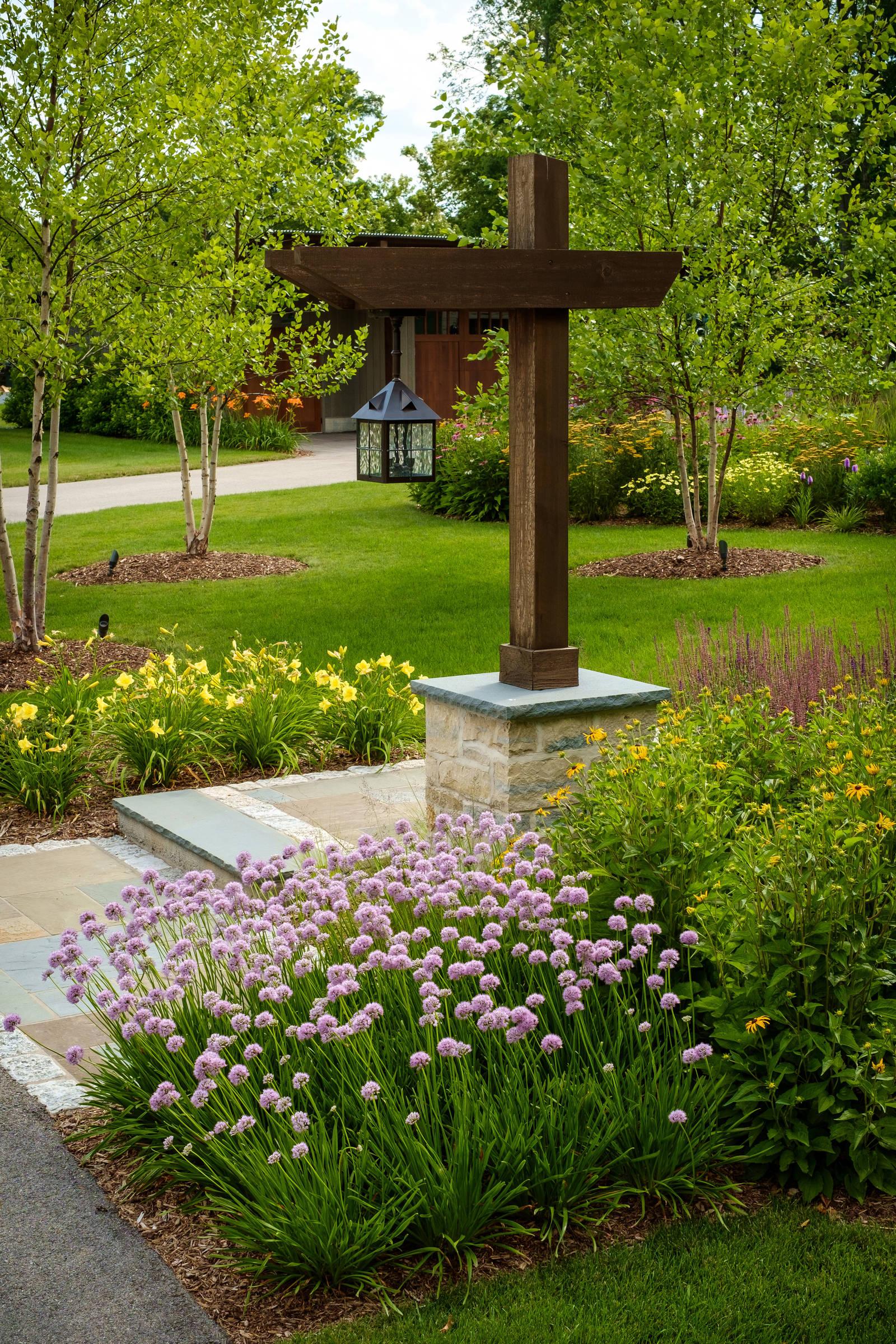 Contemporary Custom Home Landscape Renovation